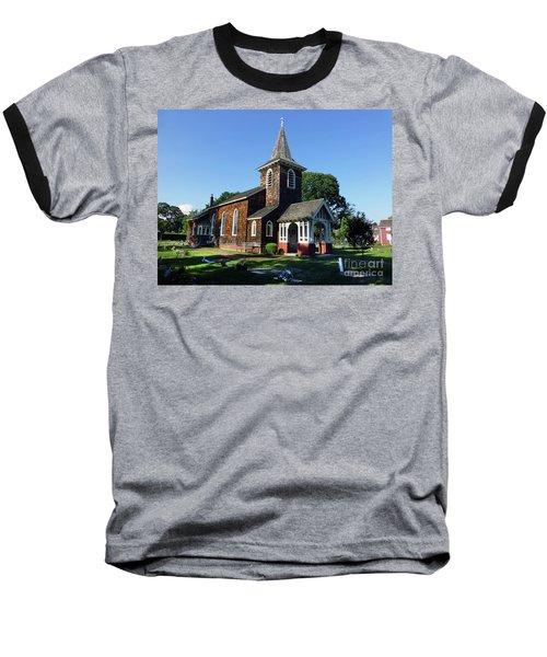 Old Grace Church Massapequa  Baseball T-Shirt