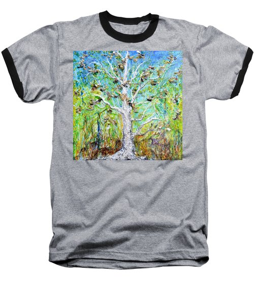 Old Growth Baseball T-Shirt by Regina Valluzzi
