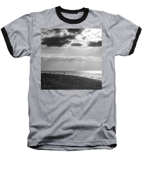 Old Hunstanton Beach, Norfolk Baseball T-Shirt
