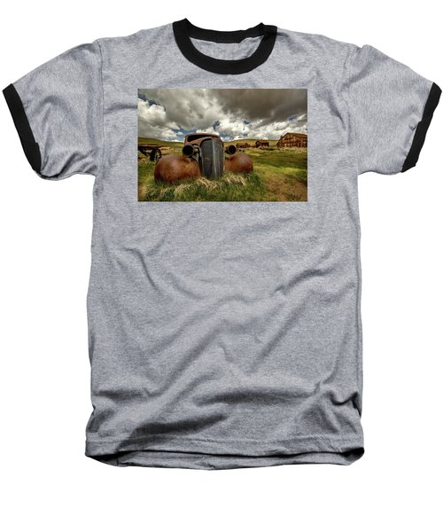 Old Jalopy Bodie State Park Baseball T-Shirt