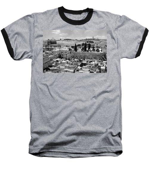 Old Jerusalem Baseball T-Shirt