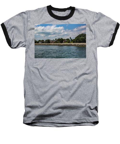 Old Point Comfort Light Baseball T-Shirt