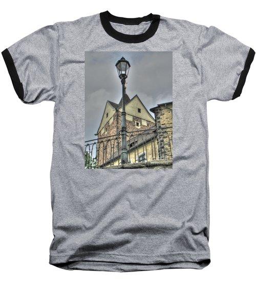 old Tallin Baseball T-Shirt by Yury Bashkin