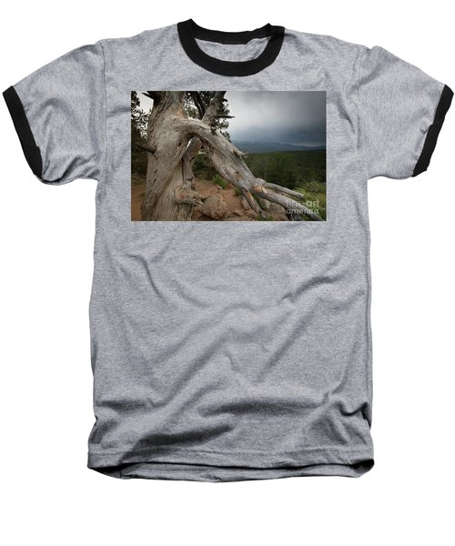 Old Tree On The Mountain Baseball T-Shirt