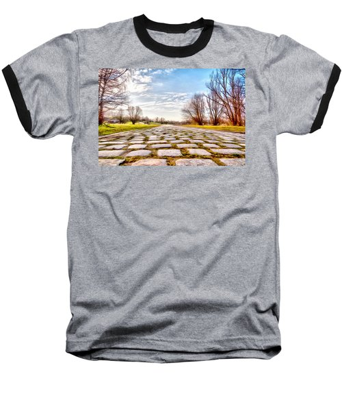 Baseball T-Shirt featuring the photograph Olimpia Park - Munich by Sergey Simanovsky