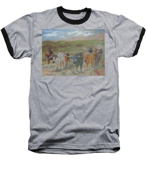 On The Chisholm Trail Baseball T-Shirt