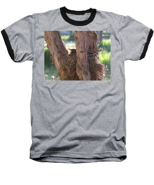 On The Nest Baseball T-Shirt
