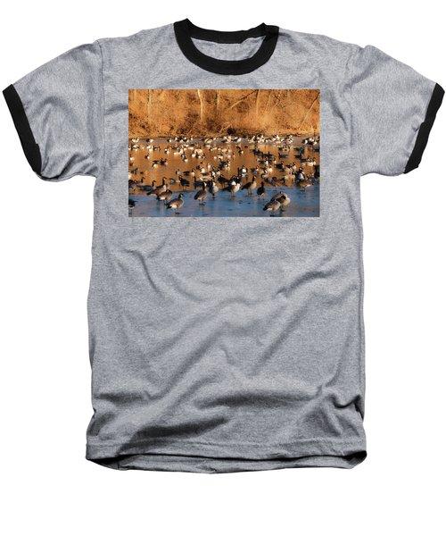 Open Water Baseball T-Shirt by Edward Peterson