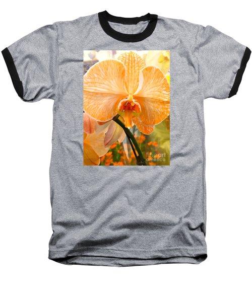 Orange Delight Baseball T-Shirt