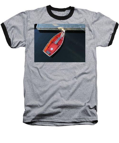Orange Dinghy Baseball T-Shirt