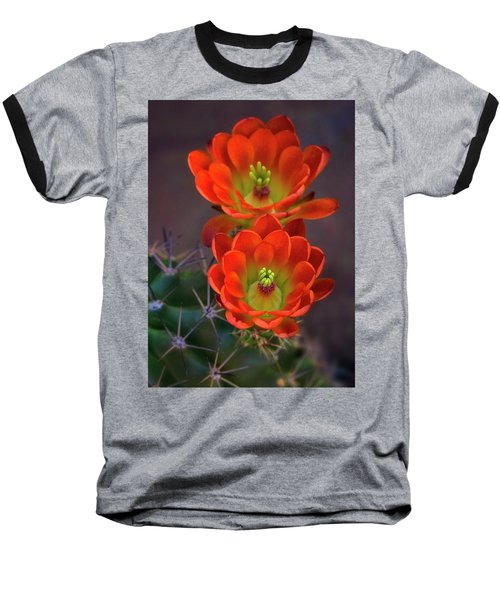 Baseball T-Shirt featuring the photograph Orange Ya Beautiful  by Saija Lehtonen