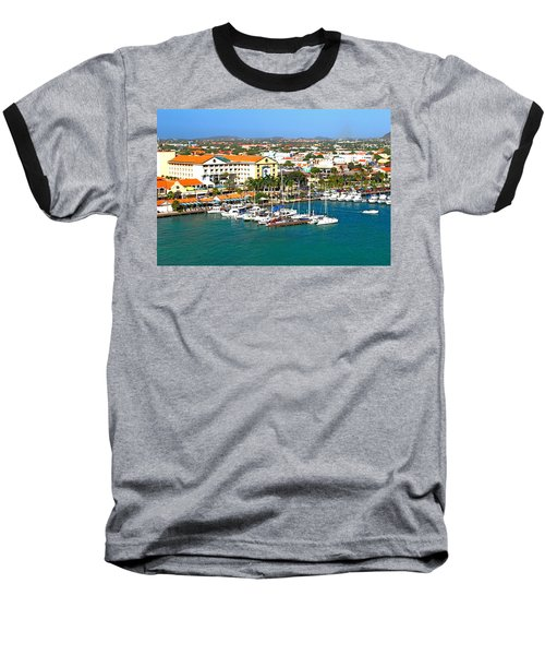Oranjestad Aruba Baseball T-Shirt