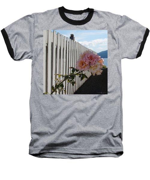 Orcas Island Rose Baseball T-Shirt