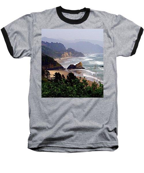 Oregon Coastline Baseball T-Shirt