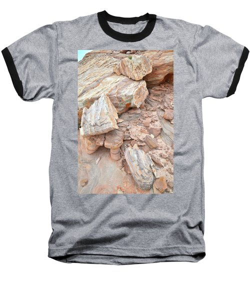 Baseball T-Shirt featuring the photograph Ornate Sandstone In Valley Of Fire by Ray Mathis