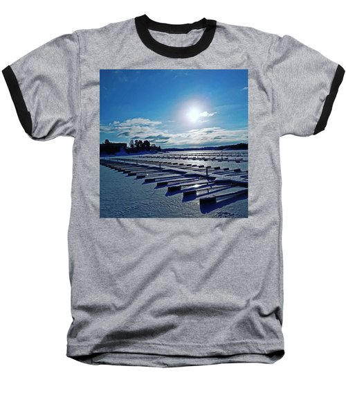 Oslo Fjords In Norway.  Baseball T-Shirt