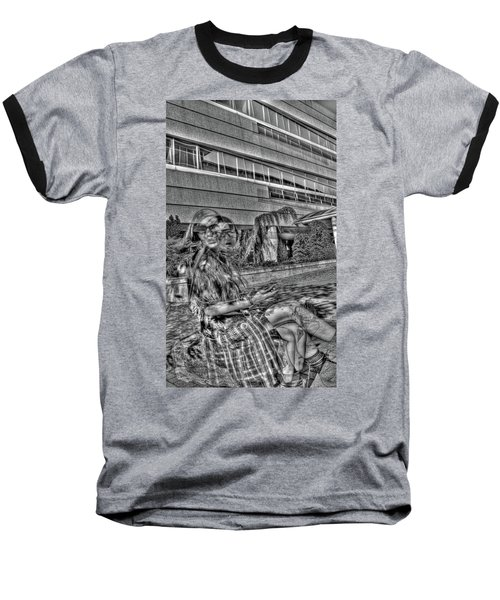 Baseball T-Shirt featuring the photograph Out Of Phase 2 by Andy Lawless
