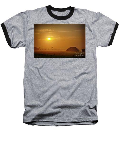 Outer Banks Memories 3 Baseball T-Shirt by Dan Carmichael