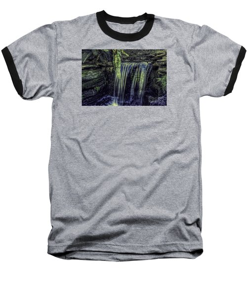 Baseball T-Shirt featuring the photograph Over The Edge Two by Ken Frischkorn