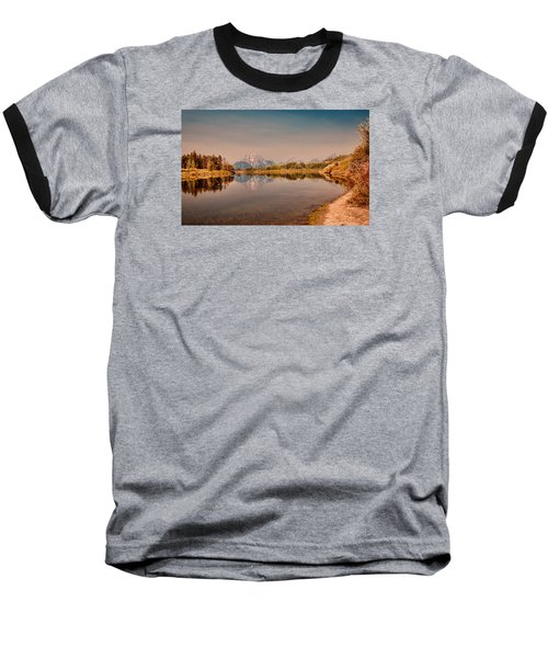 Oxbow Bend Baseball T-Shirt by Cathy Donohoue