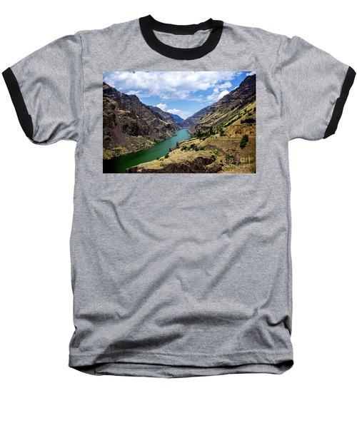 Oxbow Dam Tailwater Idaho Journey Landscape Photography By Kaylyn Franks  Baseball T-Shirt