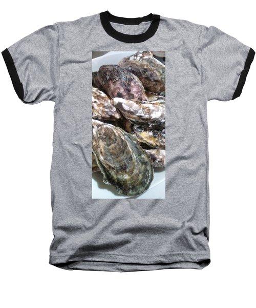 Oyster  Baseball T-Shirt