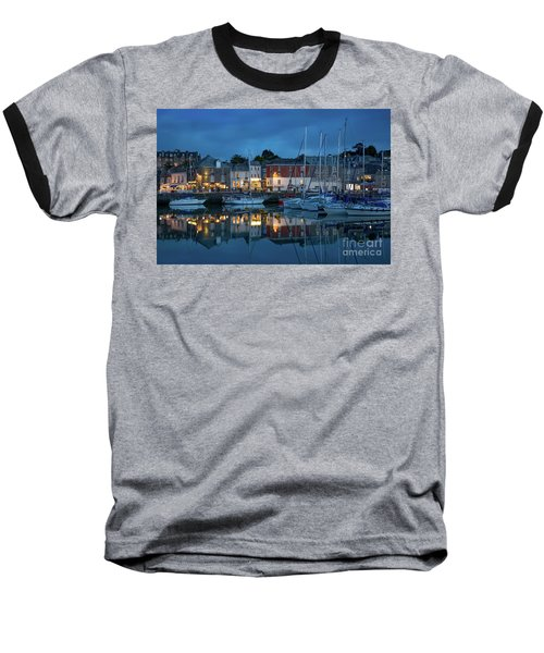 Baseball T-Shirt featuring the photograph Padstow Evening by Brian Jannsen