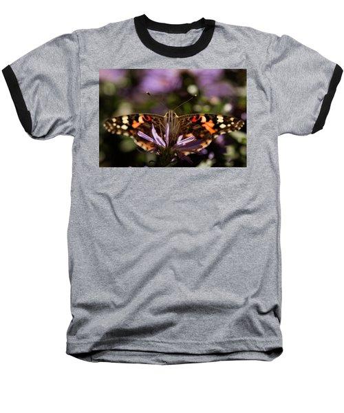 Painted Lady Baseball T-Shirt