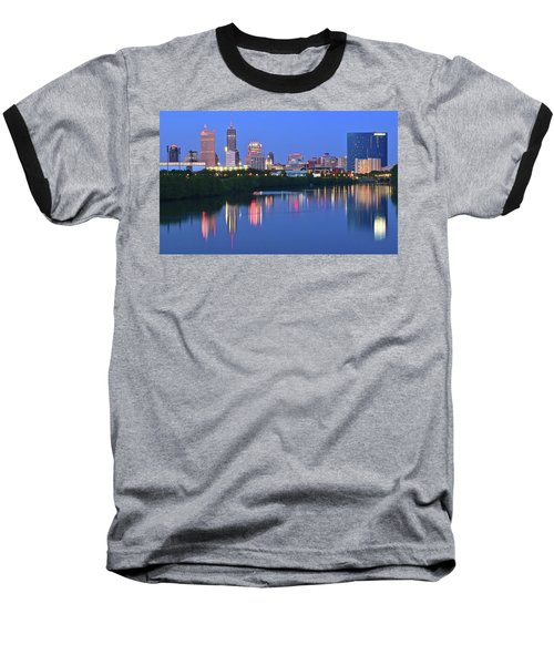Panoramic Indianapolis Baseball T-Shirt by Frozen in Time Fine Art Photography