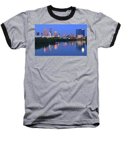 Panoramic Indianapolis Baseball T-Shirt
