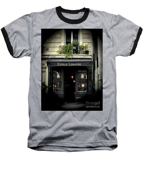 Parisian Shop Baseball T-Shirt