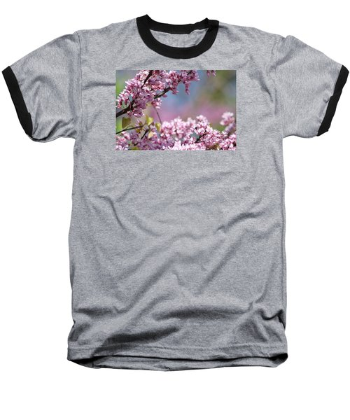 Pastel Blossoms Baseball T-Shirt