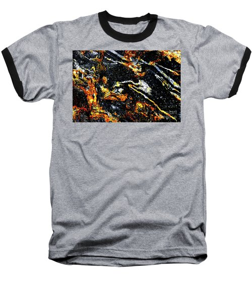 Baseball T-Shirt featuring the photograph Patterns In Stone - 189 by Paul W Faust - Impressions of Light