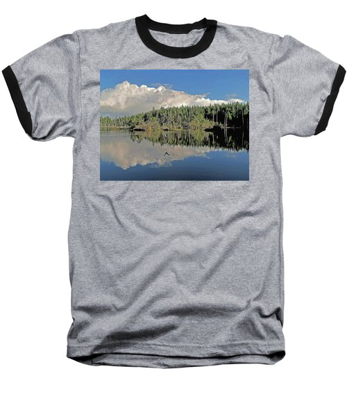 Baseball T-Shirt featuring the photograph Pause And Reflect by Suzy Piatt