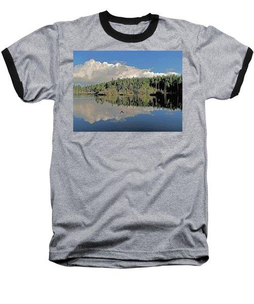 Pause And Reflect Baseball T-Shirt by Suzy Piatt