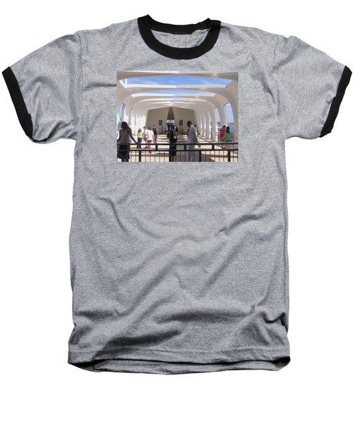 Pearl Harbor Remembered Baseball T-Shirt by Jewels Blake Hamrick