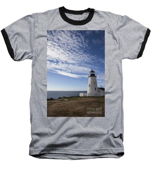 Pemaquid Lighthouse Baseball T-Shirt
