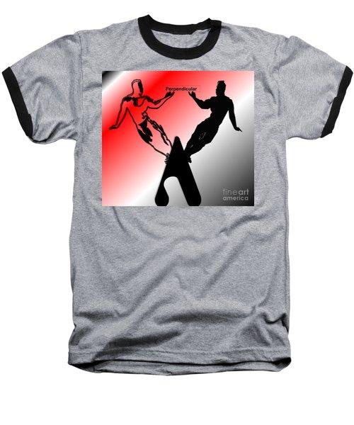 Perpendicular Baseball T-Shirt