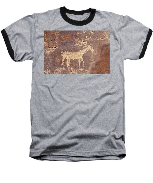 Baseball T-Shirt featuring the photograph Petroglyph - Fremont Indian by Breck Bartholomew