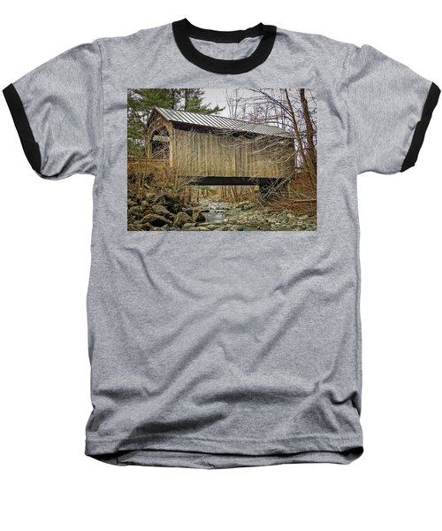Pine Brook Bridge Baseball T-Shirt