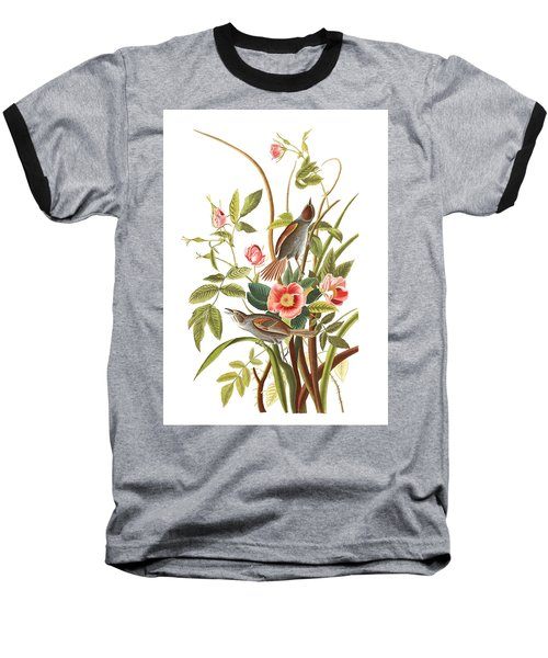 Baseball T-Shirt featuring the photograph Pink Roses by Munir Alawi