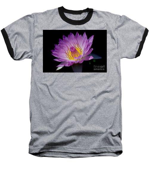 Pink Sapphire Baseball T-Shirt