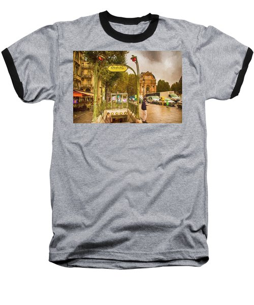 Place St. Michel Baseball T-Shirt