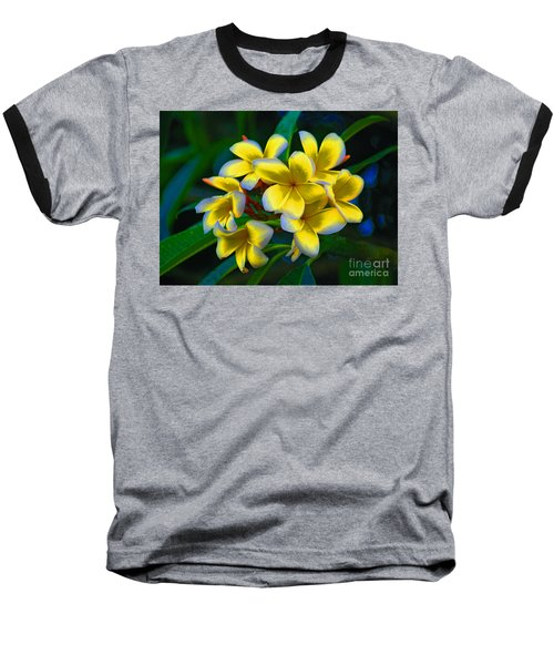 Baseball T-Shirt featuring the photograph 1- Plumeria Perfection by Joseph Keane