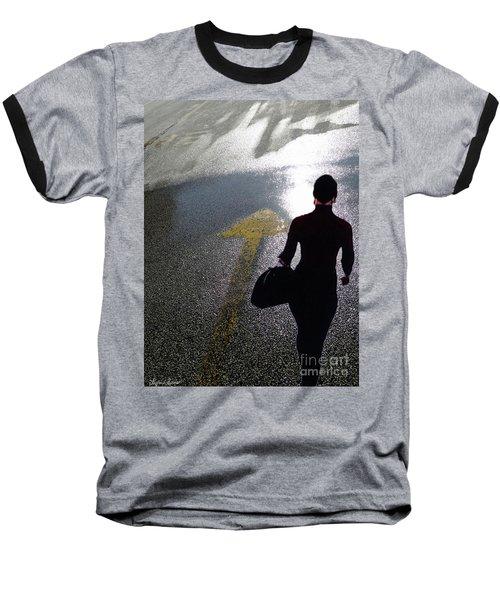 Point The Way Baseball T-Shirt by Lyric Lucas