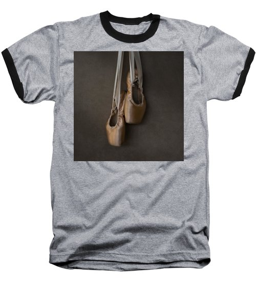 Baseball T-Shirt featuring the photograph Sacred Pointe Shoes by Laura Fasulo