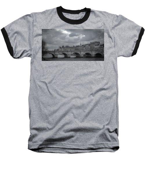 Pont Neuf Paris Baseball T-Shirt