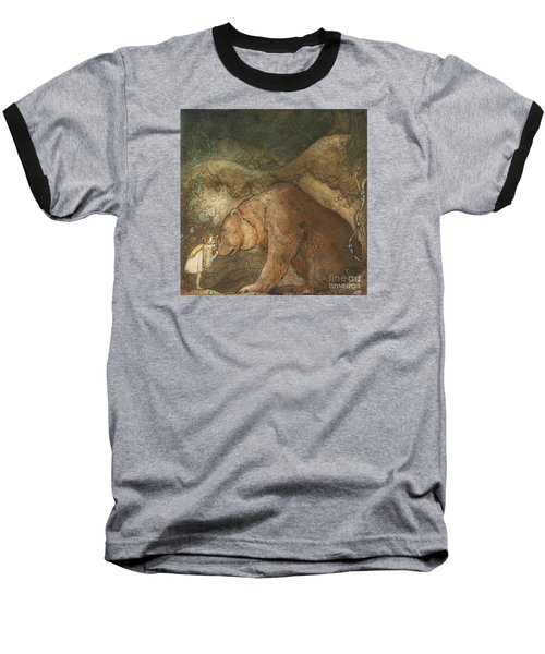 Poor Little Bear Baseball T-Shirt