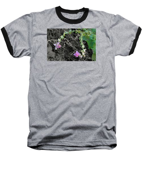 Baseball T-Shirt featuring the photograph Pop Of Color  by Deborah  Crew-Johnson
