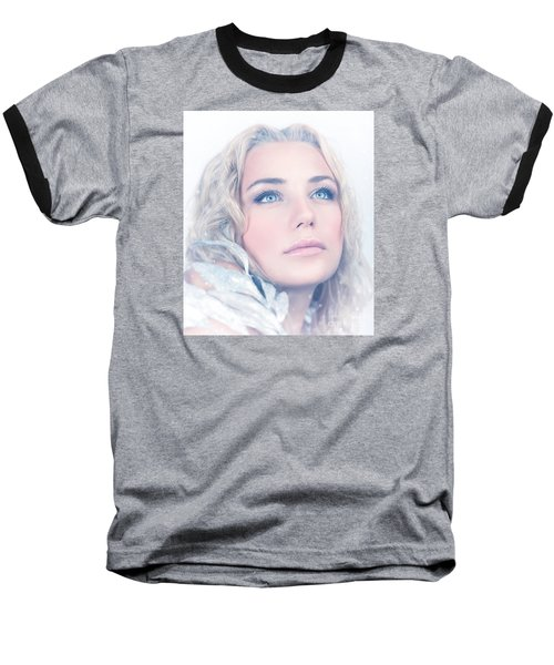 Portrait Of Gorgeous Female Baseball T-Shirt